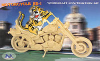 "Сборная 3Д модель ""Мотоцикл HD1"" (4 пластины)"