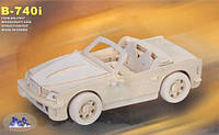 Сборная 3D модель BMW (4 пластины)