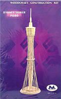Сиднейская башня - сборная 3D модель