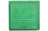 Люк садовый зеленый