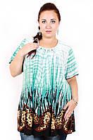 Туника большого размера Лето(2 цвета), летняя туника большого размера, одежда больших размеров, супербаталы