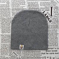2-х слойные шапки Варе темно серый