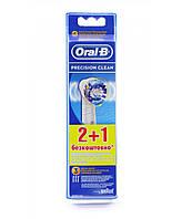 Насадки для электрической зубной щетки Oral-B Precision Clean 2+1 шт