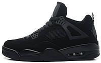Баскетбольные кроссовки Air Jordan IV Retro (Найк Аир Джордан Ретро) черные