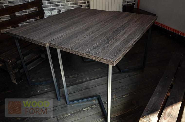 10 столов 1200х600, металлические ноги