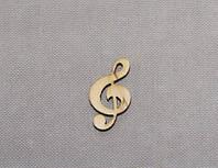 Скрипичный ключ заготовка для декора