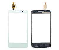Оригинальный тачскрин / сенсор (сенсорное стекло) для Alcatel One Touch M'Pop OT-5020 5020D 5020E (белый цвет)