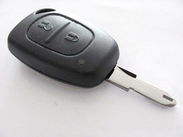 Корпус ключа с язычком, на 2 кнопки на Renault Trafic 2001->  —   PG359