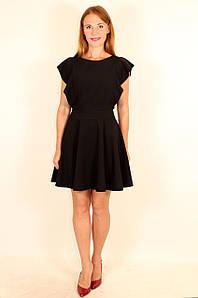 Модное школьное платье с юбкой клеш 42-48 р