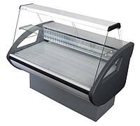 Холодильная витрина Rimini с плоским стеклом Росс.  Холодильное оборудование для магазинов