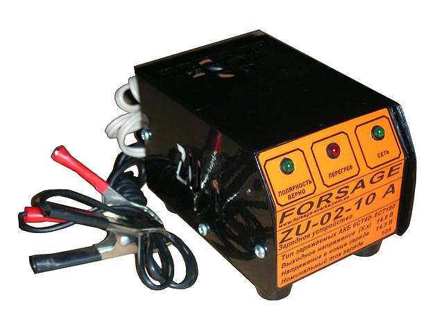 Устройство зарядное FORSAGE  ZU-02-10 с защитой