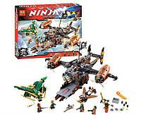 Конструктор Bela Ninja Ниндзя Цитадель Несчастья: 757 деталей, 6 фигурок, фото 1