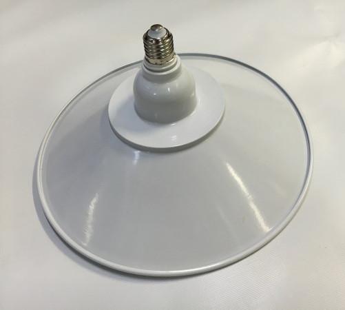 Светодиодная лампа Lemanso LM712 50W E27 6500K IP65 с отражателем белый Код.58716