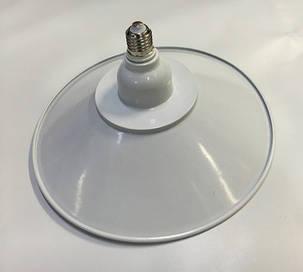 Светодиодная лампа Lemanso LM712 50W E27 6500K IP65 с отражателем белый Код.58716, фото 2