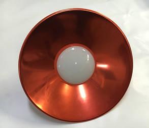 Светодиодная лампа Lemanso LM712 50W E27 6500K IP65 с отражателем красный Код.58718, фото 2