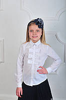 "Блуза школьная ""Бантик"""