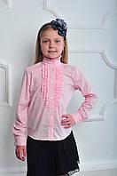 Модная школьная блузка