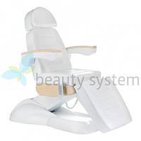Електрическое косметическое кресло LUX BG-238 белое
