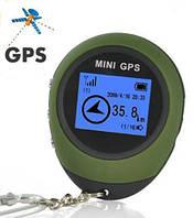 Карманный мини GPS навигатор, брелок, 16 точек, фото 1