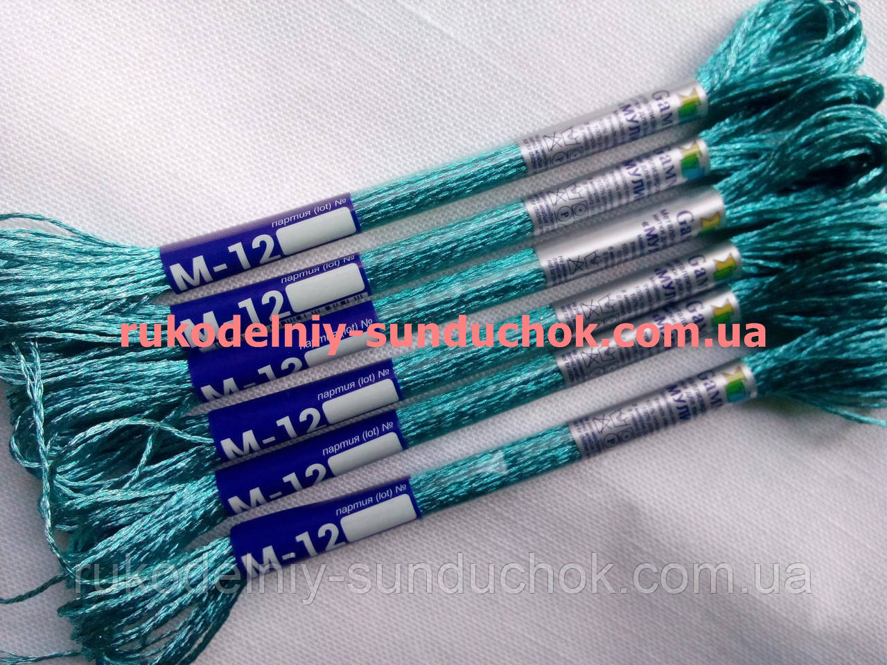 Мулине гамма металлик (Gamma) М-12