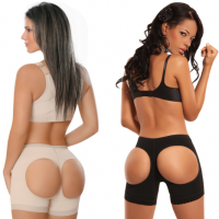 Моделирующие шортики для коррекции бедер и ягодиц -  Booty Maker  (Белый)