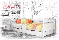 Ліжко дитяче дерев'яне Нота колір 102