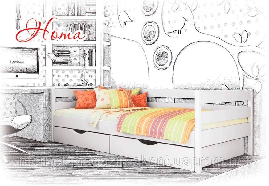 Ліжко дитяче дерев'яне Нота, фото 1