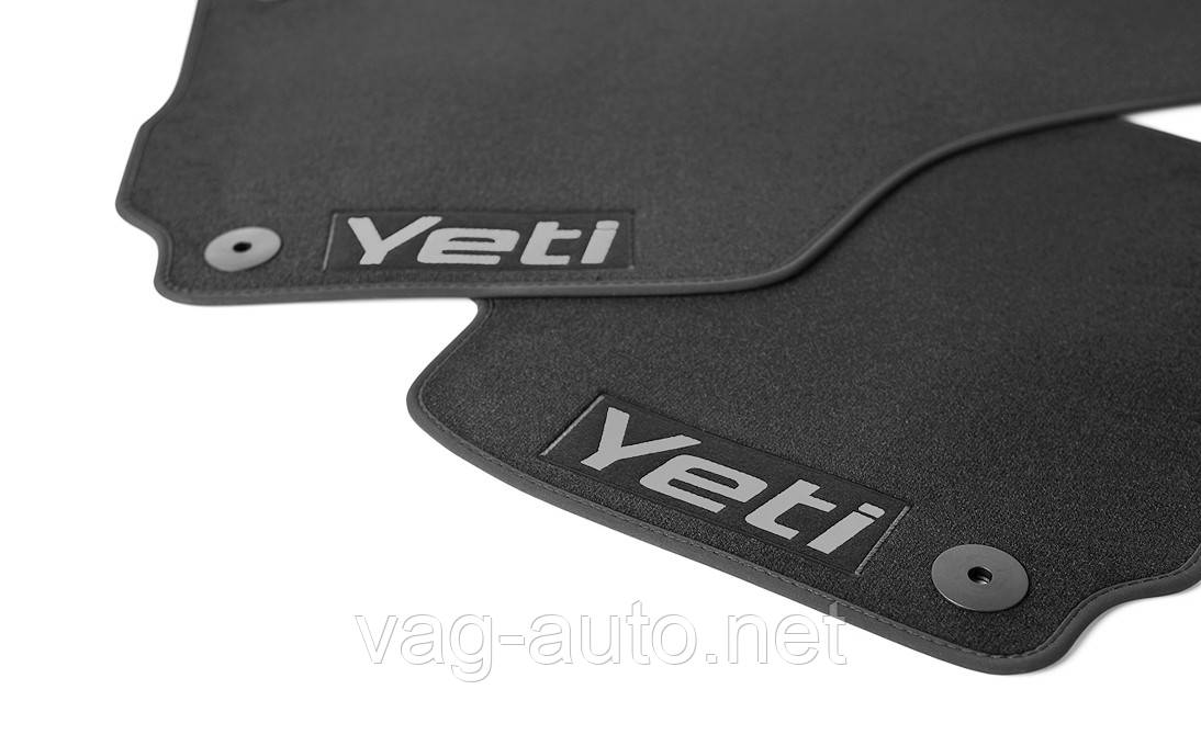 Коврики в салон текстильные комплект Yeti