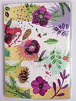 """Обложка на паспорт  """" Цветы """""""
