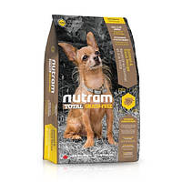 NUTRAM (Нутрам) T28 MINI Salmon & Trout Dog, холистик корм для мелких пород, лосось/форель- 6.8 кг