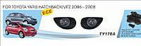 Фары доп.модельные Toyota Yaris Hatchback (2006-08)/эл.проводка