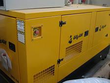 Прокат дизельгенератора 80 кВт (Gesan DPS 100, Львов)