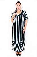 Платье большого размера Домино (2 цвета), дропшиппинг, платье супербатал, летнее платье для полных