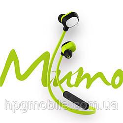 Наушники беспроводные Rock BT Mumo Bluetooth Earphone, зеленый