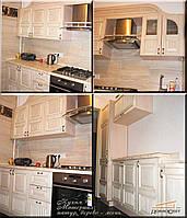 Кухня - материал дерево
