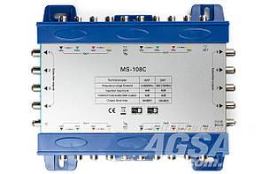 Мультисвитч каскадируемый 10/8 MS-108C
