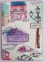 """Обложка на паспорт  """" Париж """""""
