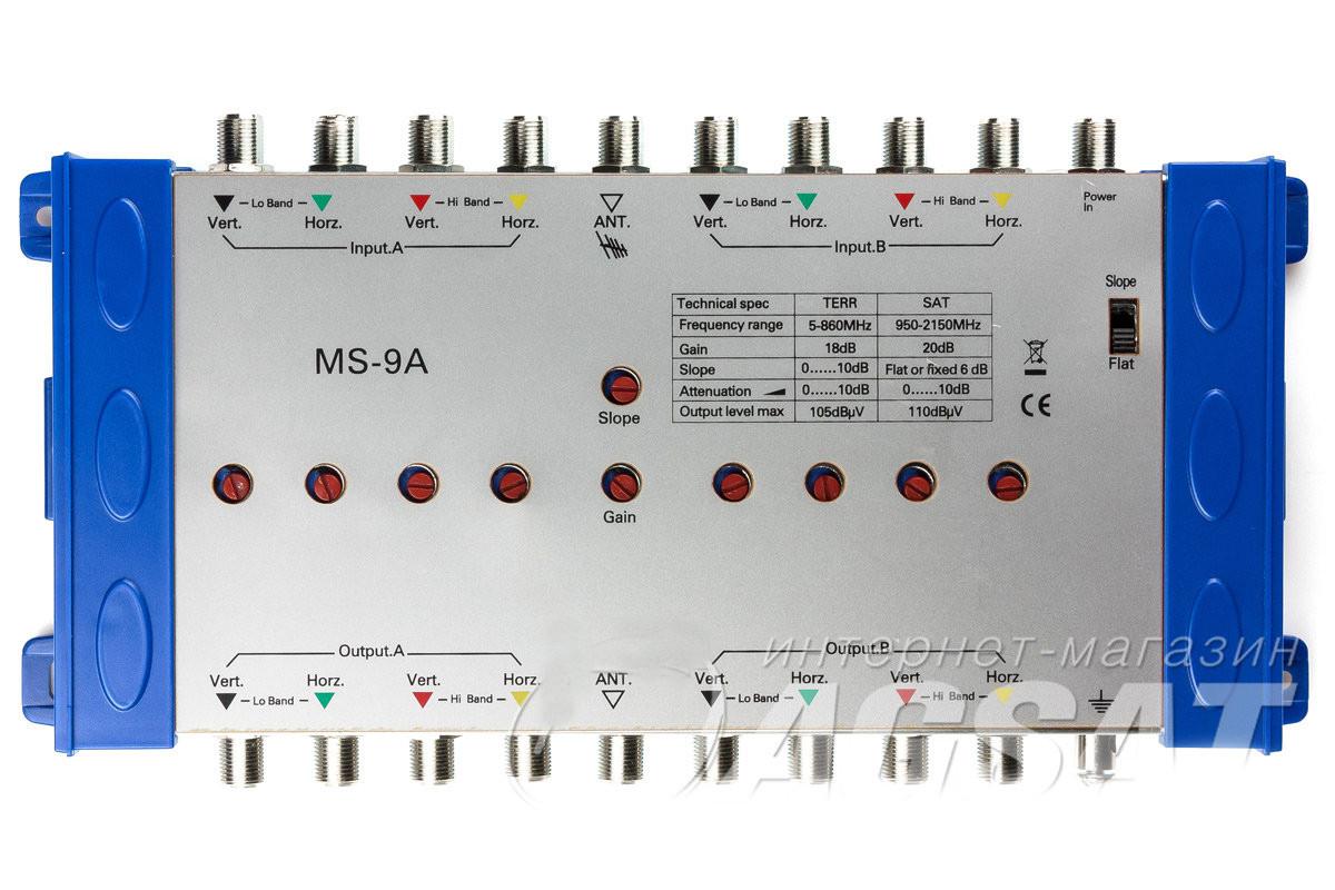 Усилитель для мультисвитчей MS-9A