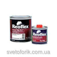 Акриловя эмаль 4+1 Reoflex TOY 040 (0,8 л) + отвердитель 4+1 (0,2 л)