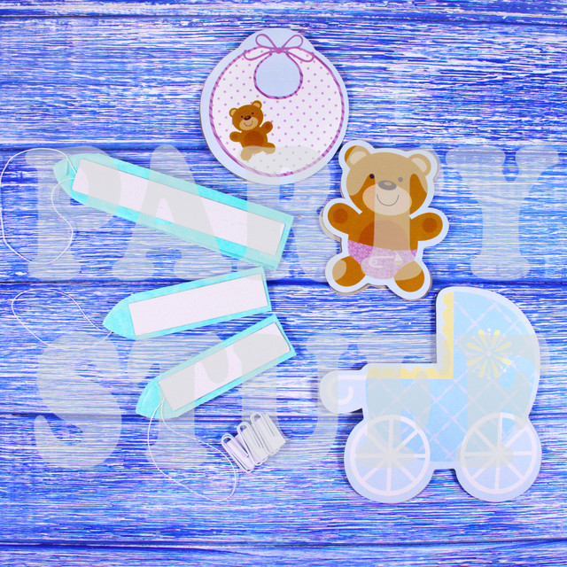 веер для декора комнаты новорожденного