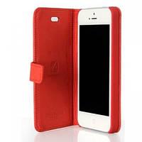 Original Leather Case iPhone 5S/SE Red