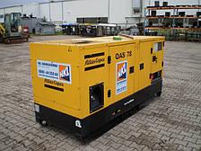 Аренда генератора 68 кВт (Atlas Copco QAS 78)