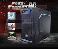 Графическая станция FF Smarter Led i7-6700K 4.0GHz/ 16GB /4GB M2000 QUADRO/ 120 SSD/ 1TB/ 600W