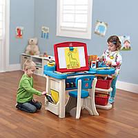 Детский парта-мольберт Step2 Studio Art Desk США