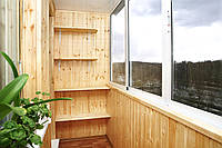 Внутрення отделка балкона