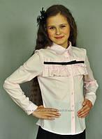 Блузка на девочку в школу 2793