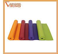 """Коврик для йоги немецкий Rishikesh """"Ришикеш"""" от фирмы Bodhi (1,83 м х 0,6 м х 4,5 мм)"""