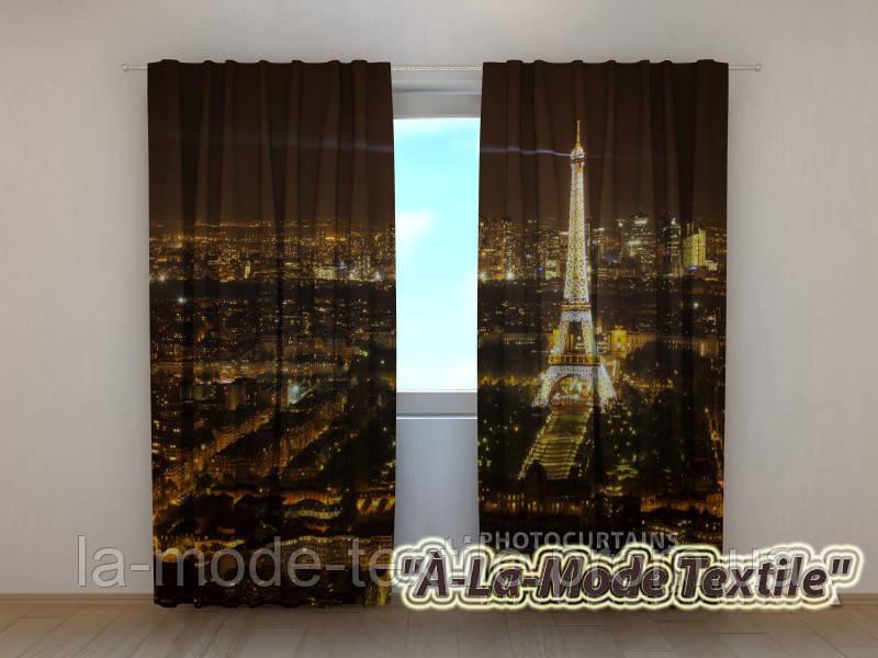 Фотошторы Ночной Париж