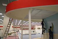 Ремонт торговых площадей в в ТРЦ Lavina Mall