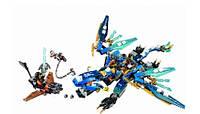 Конструктор Senco Ninja Ниндзя Дракон стихий Джея: 382 детали, 3 фигурки
